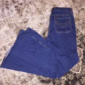 Free People Bell Bottom Flare Jeans.